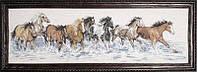 """Набор для вышивания крестом """"Splashdown Horses//Кони на воде"""" Design Works"""