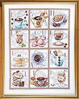 """Набор для вышивания крестом """"Coffee Break//Перерыв на кофе"""" Design Works"""