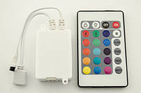 Инфракрасный контроллер светодиодной RGB ленты 6А 24 кнопоки ИК
