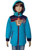 Удлиненная куртка для мальчиков, примерно 4-8 лет