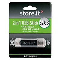 Флеш-накопитель USB - OTG 32 GB store.it