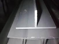 Тавр   алюминиевый  40х40х3х6000 мм АД 31 Т5  цена купить порезка