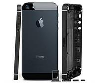 Корпус для IPhone 5 (металлическая рамка, корпус) (black)