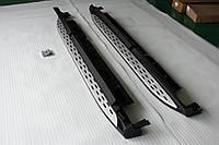 Пороги боковые на Mercedes GL X166, фото 1