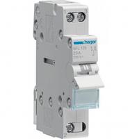 Переключатель I-II 1 полюс 25А 230W с общим выводом снизу SFL125 Hager