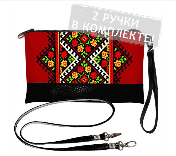 Женская сумочка с орнаментом