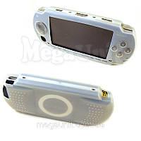 Силиконовый чехол для Sony PSP 1000 Fat белый