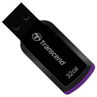 Флеш память 32Gb USB2.0 Transcend JetFlash 360 Black (TS32GJF360)