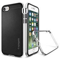 Накладка для iPhone 7 Plus силикон Spigen Case Neo Hybrid Серебряный (SGP-043CS20537)