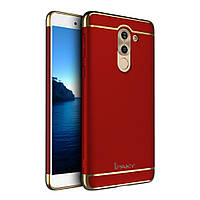 Чехол накладка пластик IPAKY Joint для Huawei GR5 2017 красный
