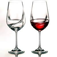 Набор бокалов для вина 550мл Bohemia  Turbulence b40774