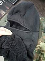 Балаклава маска зимняя 3 режима Черная