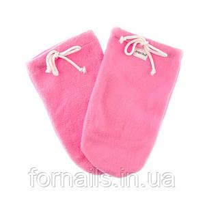 Варежки для парафинотерапии Jerden Proff флисовые, цвет розовый, пара