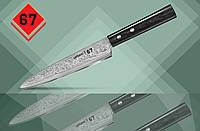 Универсальный нож 15см Samura 67 Damascus SD67-0023P
