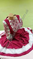 Платье женское с вышивкой СЖ 75