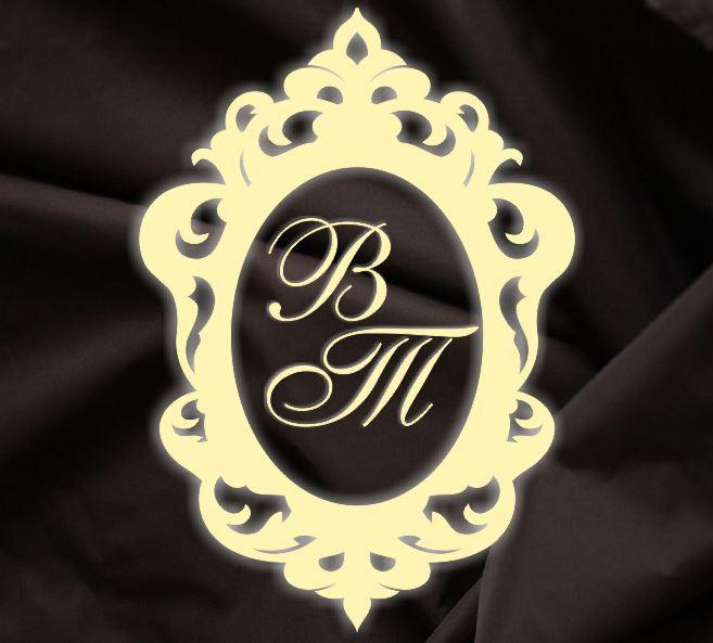 Монограмма свадебная, герб молодоженов 18