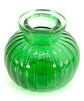 Колба для кальяна стекло зеленая
