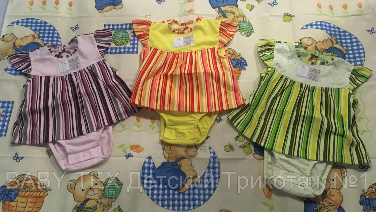 Боді-сукня для дівчаток рібана
