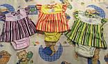 Боді-сукня для дівчаток рібана, фото 2