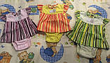 Боді-сукня для дівчаток рібана, фото 3