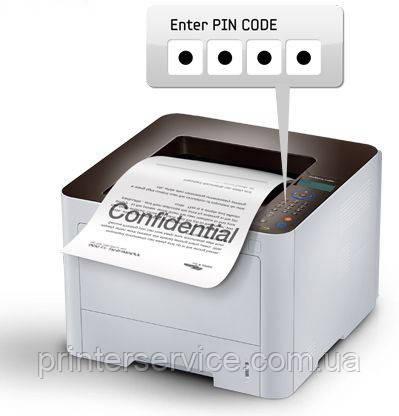 Конфиденциальность документов в Samsung SL-M4020ND (SL-M4020ND/XEV)