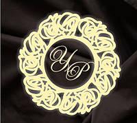 Монограмма свадебная, герб молодоженов 22