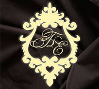 Монограмма свадебная, герб молодоженов 27