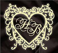 Монограмма свадебная, герб молодоженов 28