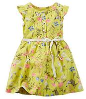 Летнее платье для девочки Carters 2Т