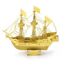Металлический конструктор Золотая лань золото