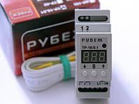 Терморегулятор одноканальный 16А для охлаждения, кондиционирования помещений - РУБЕЖ ТР-16.01