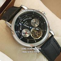 Часы Franck Muller (механика) silver/black. Реплика