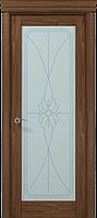 """Двери межкомнатные Папа Карло """"Milenium ML-09 бевелс"""" орех"""