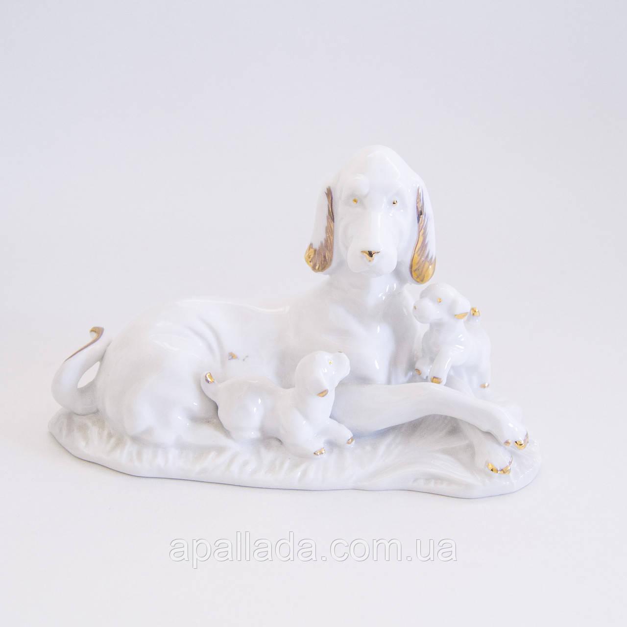 Статуетка Собачки 9,5*17 см