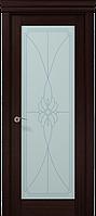 """Двери межкомнатные Папа Карло """"Milenium ML-09 бевелс"""" венге"""