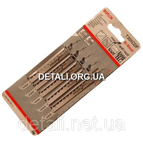 Пилка Bosch T301CDF 5шт по дереву 2608636229