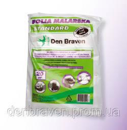 Пленка защитная 4m*5m--20m2 Folia Malarska Standard Den Braven, фото 2