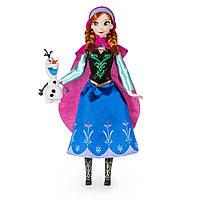 Disney Классическая кукла Принцесса Анна с снеговиком Олафом - Холодное сердце
