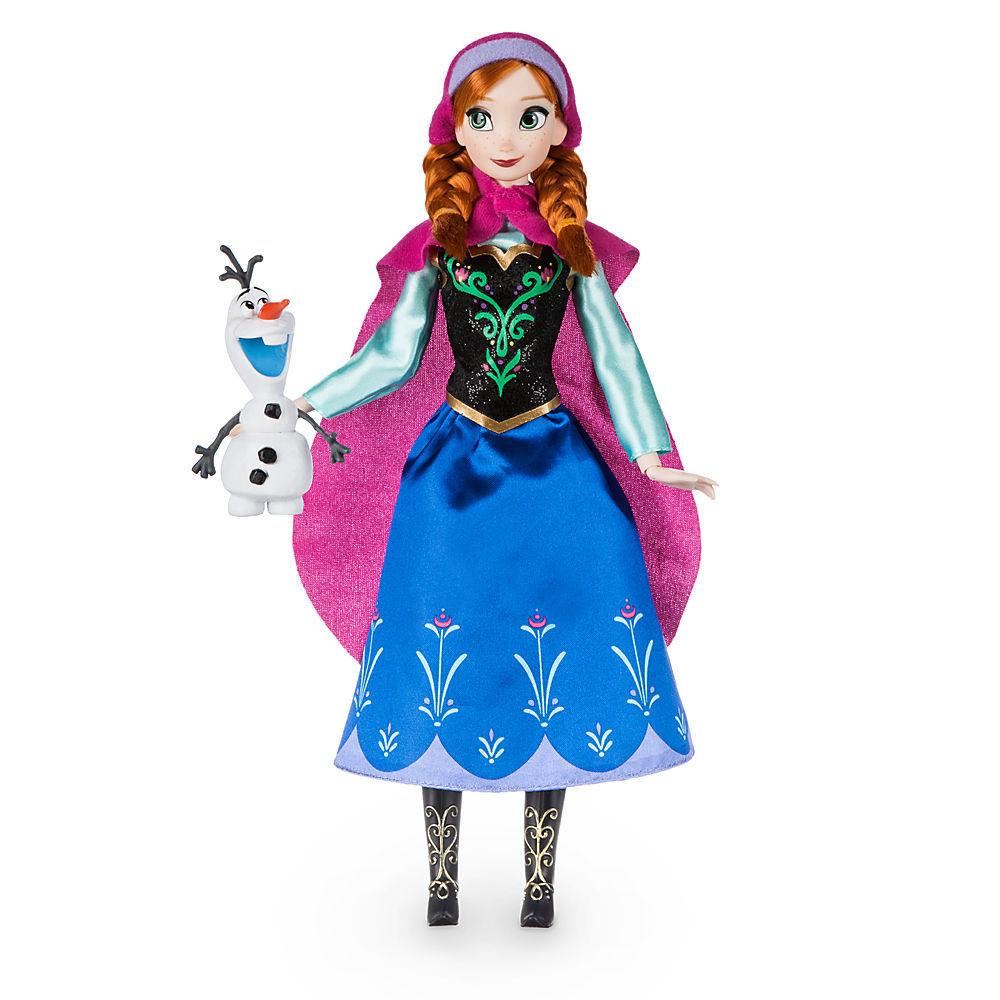 Disney Классическая кукла Принцесса Анна с снеговиком Олафом - Холодно