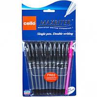 Ручка масляная MAXRITER Cello черная