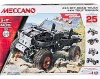 Конструктор 25 моделей авто Meccano Spin Master 6028599