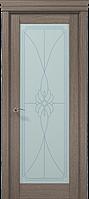 """Двери межкомнатные Папа Карло """"Milenium ML-09 бевелс"""" дуб серый брашированный"""