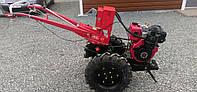 Мотоблок тяжелый Булат WM 12 Е дизельный двигатель воздушного охлаждения 12 л.с., электростартер