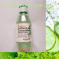 Успокаивающий тонер Skinfood Premium Lettuce & Cucumber Watery Toner 180ml