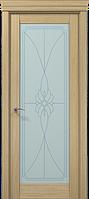 "Двери межкомнатные Папа Карло ""Milenium ML-09 бевелс"" дуб выбеленный"