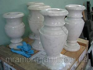 Мраморные вазочки