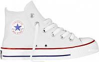 Кеды Converse (конверс) Chuck Taylor All Star Белые Высокие