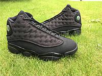 Мужские кроссовки Nike Air Jordan 13 Black Cat