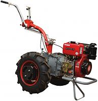 Мотоблок Мотор Сич МБ-6Д с дизельным двигателем Wiema WM178F ручной запуск Бесплатная доставка