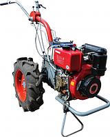Мотоблок Мотор Сич МБ-6ДЕ с дизельным двигателем WIEMA WM178FE электрический запуск Бесплатная Дос.